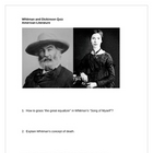 Whitman and Dickinson Quiz with Answers
