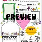 Who Am I? Fun Student Personality Poster