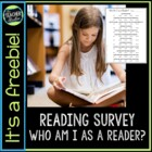 """Who Am I as a Reader?"" Survey"
