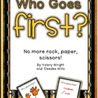 Who Goes First? Management Cards
