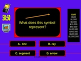 Who Wants to be Rich- Angles and Lines Edition- Powerpoint Game