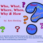 Who, What, Where, When, Why &amp; How