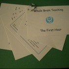 Whole Brain Teaching - First Hour Cue Cards