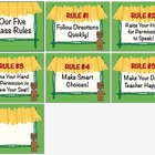 Whole Brain Teaching / Five Class Rules /  Tiki Jungle Hut