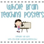 Whole Brain Teaching Posters with Clip Art