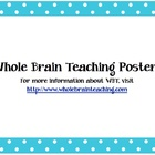 Whole Brain Teaching Posters/Cards
