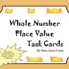 Whole Number Place Value Task Cards
