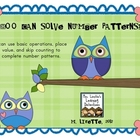 Whoo Can Solve Number Patterns?
