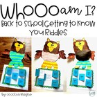 Whooo Am I? Riddle Craftivity Freebie