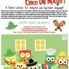 Whoooo's Ready for Cinco De Mayo?  {a festive language activity}
