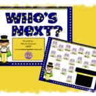 Who's Next Random Student Name Caller Promethean Flipchart Lesson