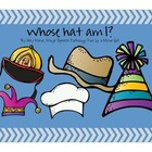 Speech Therapy: Whose Hat Is This? Language Packet