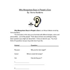 Why Mosquitoes Buzz in People&#039;s Ears Week Guided Reading Unit