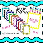 Wiggle Frames/Borders Clip Art Commercial Use OK