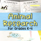 Wild About Animals Research Reports - Differentiated Writi