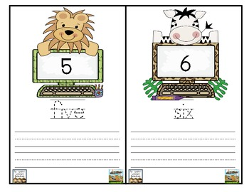 Wild About Number Words {Free}