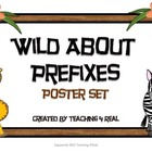 Wild About Prefixes Poster Set