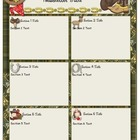 Wild West - Western Themed Classroom Newsletter Template
