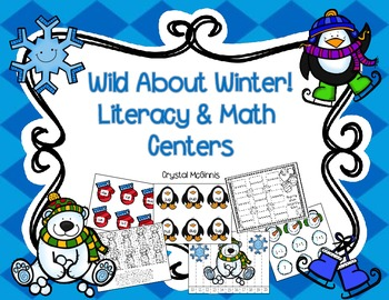 Wild About Winter! 11 Kindergarten Common Core Winter Math