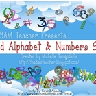 Wild Alphabet &amp; Number Set by The 3AM Teacher