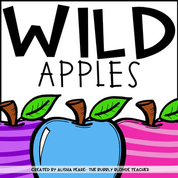Wild Apples Place Value Centers