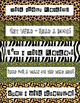 Wild Bookmarks for Reading - 5 different designs and quotes