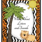 Wild Jungle Letters and Sounds for First Sound Fluency Practice