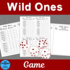Wild Ones; A Math Game involving critical thinking