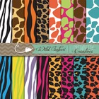Wild Safari Backgrounds {Personal and Commercial Use}