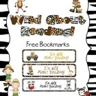 Wild Safari FREE bookmarks