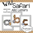 Wild Safari Letters for Posters & Displays