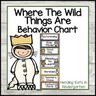 Wild Things Behavior Clip Chart