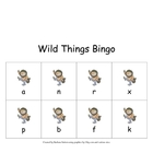 Wild Things Bingo