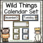 Wild Things Calendar Set