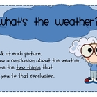 Wild Weather Mini Unit - Literacy and Math Fun