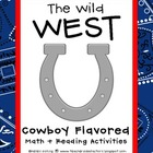 Wild West: Cowboy Math & Reading Activities