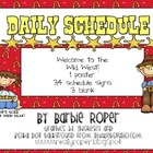 Wild West Daily Schedule