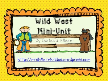 Wild West Mini-Unit {FREE}