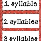 Wild West Syllable Sort (1, 2 and 3 Syllables)