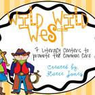 Wild Wild West {7 literacy centers to promote common core}