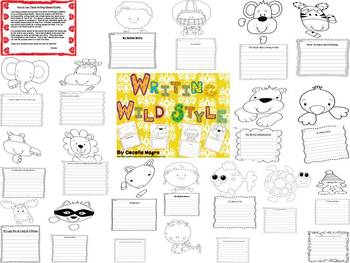 Wild Writing and Craft Unit