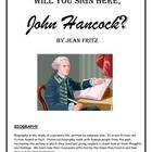 Will You Sign Here, John Hancock? reading packet