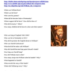 William the Conqueror webquest