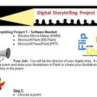 Windows Movie Maker - Digital Storytelling Project with Poems