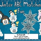 Winter  ABC Matching Fun