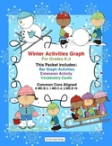 Winter Activities Graph   Common Core Aligned