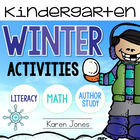 Winter Activities for Kindergarten with ELA &amp; Math Common Core!