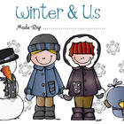 Winter Activity Story Book - Social Studies Pre-K and Kind