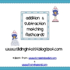 Winter Addition & Subtraction Cards