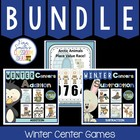 Winter Addition Subtraction and Place Value Discounted Bun